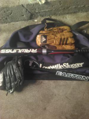 Louisville slugger bats gloves bag for Sale in US