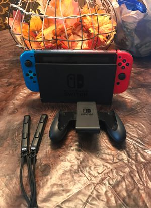 Nintendo Switch with joy cons for Sale in Kissimmee, FL