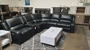 NEW, Euro 3 PC Gray Power Motion Sectional Sofa Recliner for Sale in Midway City, CA