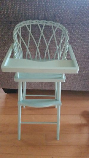 Antique baby doll high chair for Sale in Vancouver, WA