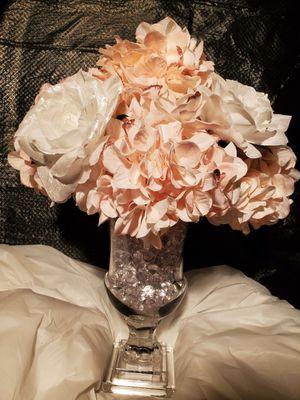 Elegance Artificial Silk Flower Arrangement (Glass) for Sale in Silver Spring, MD