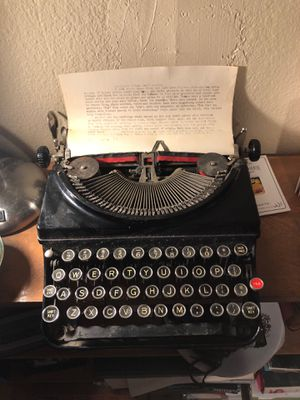 Remington Portable Model 5 typewriter for Sale in San Diego, CA