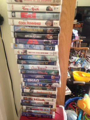 Walt Disney movies 8 each for Sale in Ontario, CA