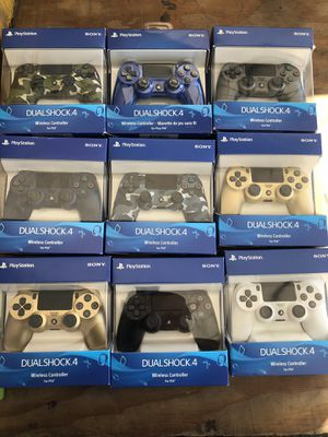 Playstation 4 Ps4 controller brand new sealed 45$$$ each each each for Sale in San Diego, CA