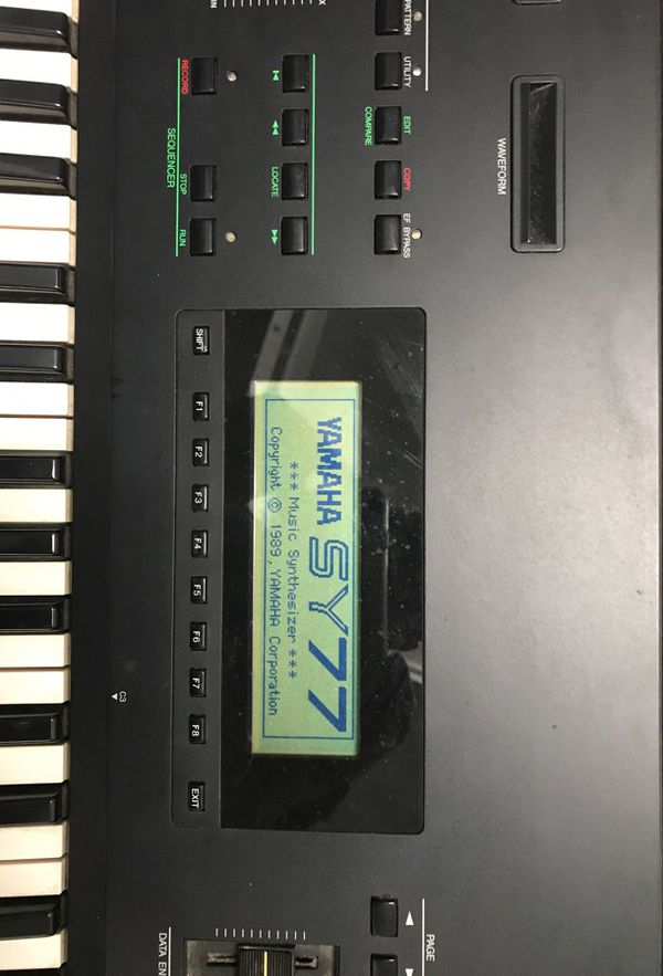 *** VINTAGE***HARD TO FIND! Yamaha SY77 Synthesizer for Sale in Miami, FL -  OfferUp
