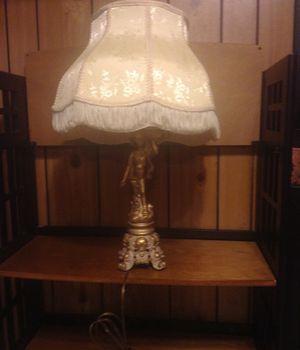 Antique Italian Cherub Lamp for Sale in Winchester, MA