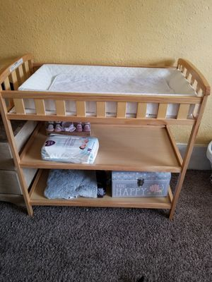 Changing table with pad for Sale in Oakdale, PA