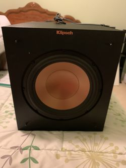 Klipsch R-10SW home subwoofer for Sale in Fairfield,  CA