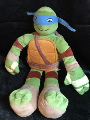 Teenage mutant ninja turtle plush animal doll-New! for Sale in Savannah, GA