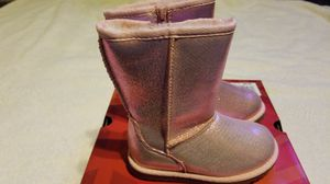 NEW toddler girls shoes boots Jumping Beans pink sz 8 for Sale in Clovis, CA