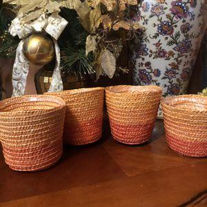 4 Ombré Plant Vases for Sale in Wilsonville, OR