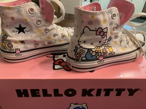 Girls hello kitty converse size 12 for Sale in Oviedo, FL