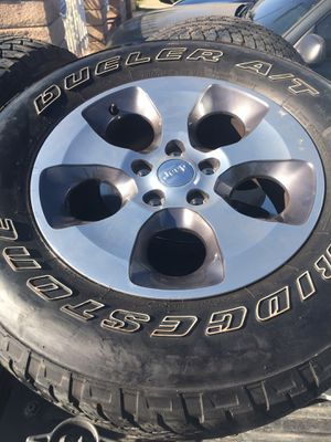 """Jeep,sahara,18"""" wheels for Sale in Los Angeles, CA"""