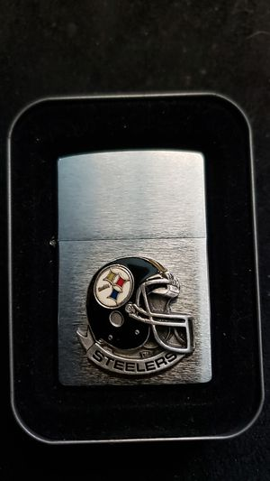 Pittsburgh Steeler Zippo lighter for Sale in N BELLE VRN, PA