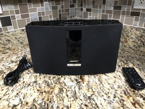 Bose SoundTouch 20 wireless speaker, Black for Sale in Port St. Lucie, FL