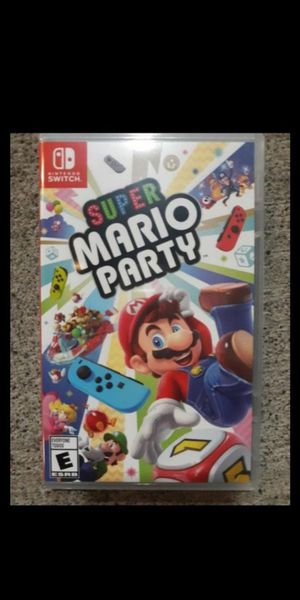 Mario Kart 8 Deluxe and Super Mario Party for Nintendo Switch for Sale in Portland, OR