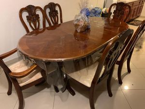 Solid Wood Dining Set for Sale in Las Vegas, NV