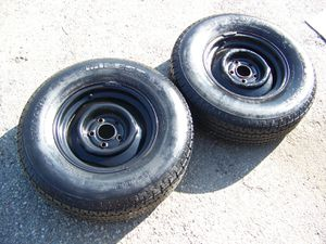 2 = TRAILER WHEELS & TIRES for Sale in Montclair, CA