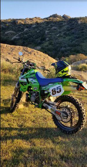 1994 kawasaki kdx 2 stroke Street legal Cal plated dirtbike dirt bike for Sale in Los Angeles, CA