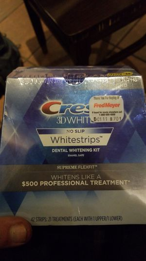 Crest white strips for Sale in Federal Way, WA
