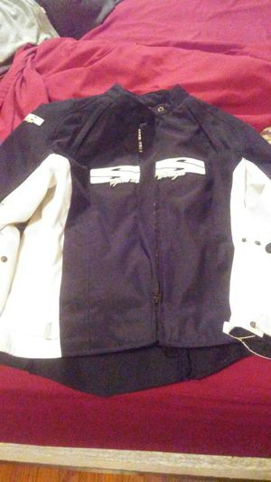 Speed and strength lady's motorcycle jacket for Sale in Stuarts Draft, VA