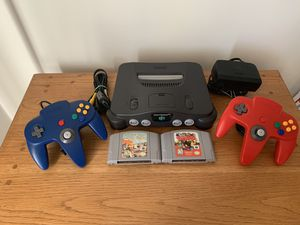 Nintendo 64 Pokémon + Star Wars + 2 controllers for Sale in Tampa, FL