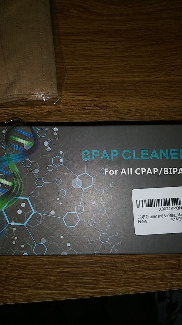 Brand new never used. Cpap cleaner