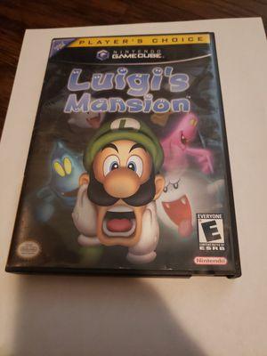 Luigis mansion gamecube for Sale in Orange Park, FL