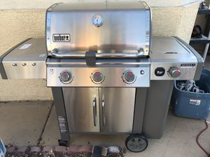 Grill barbecue bbq Weber genesis II s340 natural gas unused new assembled for Sale in North Las Vegas, NV