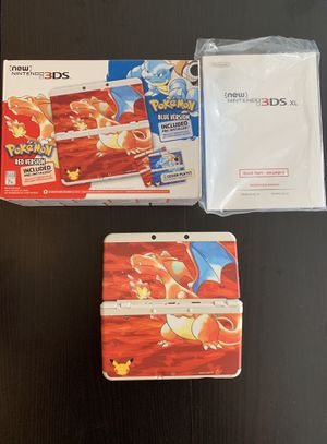 Pokemon red/ blue Nintendo 3ds system for Sale in Los Angeles, CA