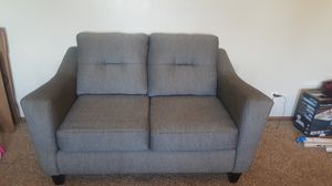 2 Gray cotton love seats for Sale in Waynesville, MO