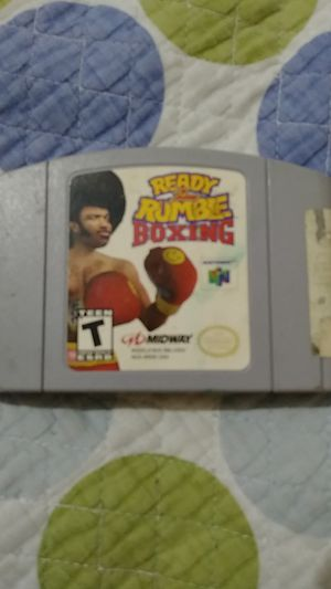 Nintendo 64 Ready 2 Rumble Boxing for Sale in Arlington, TX
