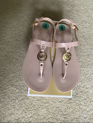 New Michael Kors Sondra Jelly Soft Pink Sandals 8M for Sale in Buffalo, NY