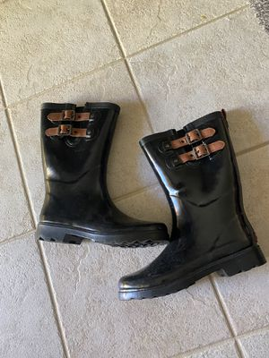 Rubber rain boots size 7/8 for Sale in Littleton, CO
