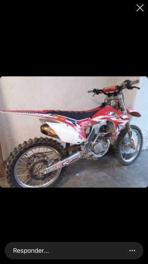 Dirt bike Honda 2014 Good condition for Sale in San Leandro, CA