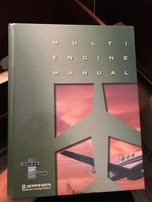 Multi Engine Manual, Jeppesen for Sale in Kent, WA