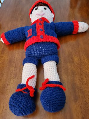 Hand crafted crochet Doll for Sale in Bolingbrook, IL