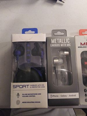WIRELESS EARBUDS AND SPEAKER for Sale in Simsbury, CT