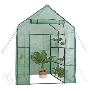 3 Tier 6 Shelves Movable Plant Greenhouse Planter for Sale in ROWLAND HGHTS, CA