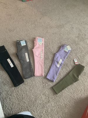 5 pairs Brand New size 3T pants for Sale in Smyrna, TN