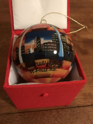 St. Louis Arch Painted Ornament for Sale in Castle Rock, CO