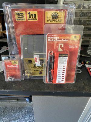 Electric fence controller for Sale in Oak Glen, CA