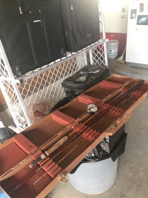 Fly fishing rod reel case for Sale in Edgewood, NM