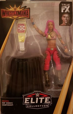 New WWE ELITE COLLECTION Sasha Banks Action Figure. for Sale in Apopka, FL