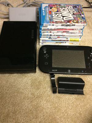 Nintendo Wii U 32GB Mario Kart 8 Deluxe Bundle for Sale in Ridge Farm, IL