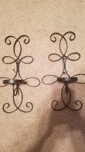 Wrod iron wall sconces for Sale in North Ridgeville, OH