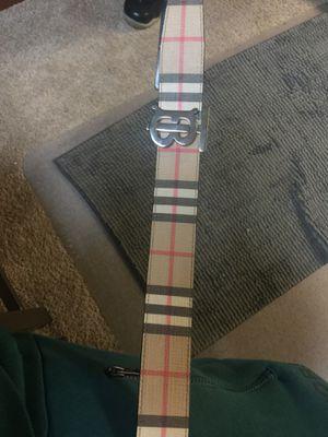 Burberry belt for Sale in Seattle, WA
