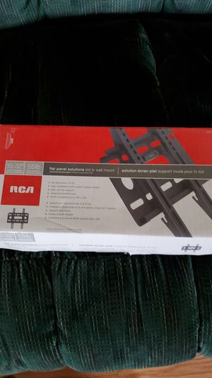 """RCA lcd TV mount for Televisions 15-32"""" for Sale in Kent, WA"""