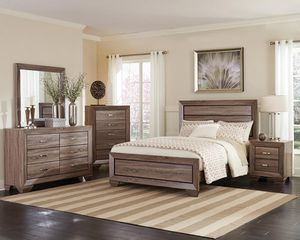 Bedroom Set/4 pcs(bed,dresser,mirror,nightstand )📦 for Sale in Miami, FL