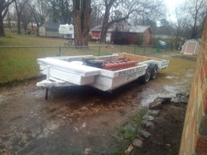 20 foot tandem axle trailer for Sale in Fort Smith, AR
